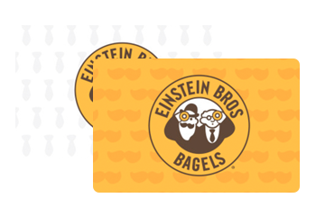 Einstein Bros. Bagels Gift Cards from CashStar